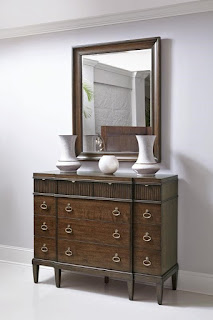 Baers Beverly Glen Mirror with Beveled Glass