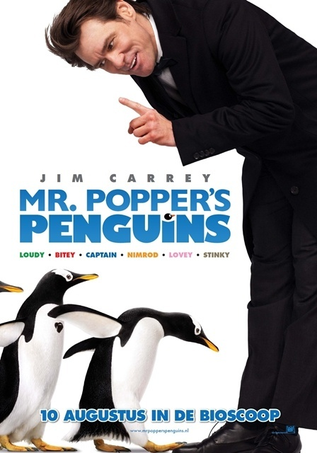 Mr. Popper's Penguins (2011) เพนกวินน่าทึ่งของนายพ็อพเพอร์