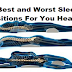 The Best and Worst Sleeping Positions For You Health!