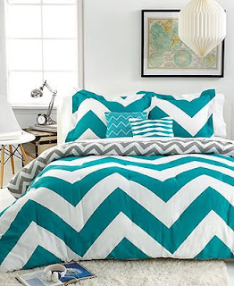 chevrons, bedding