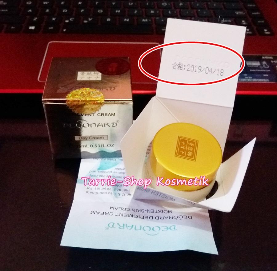 Expire Date Kemasan Deoonard Gold Silver