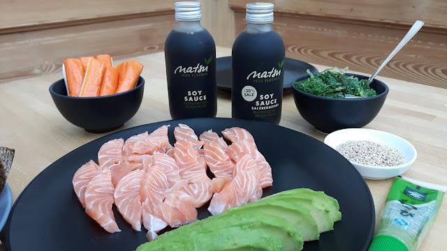 Kinderkueche Mamablog: Sushi ohne stundenlanges Rollen
