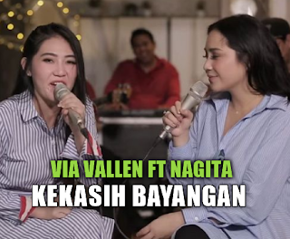 Download Lagu Via Vallen Feat Nagita Kekasih Bayangan Mp3 (5,44MB),Via Vallen, Nagita Slavina, Lagu Cover, 2018