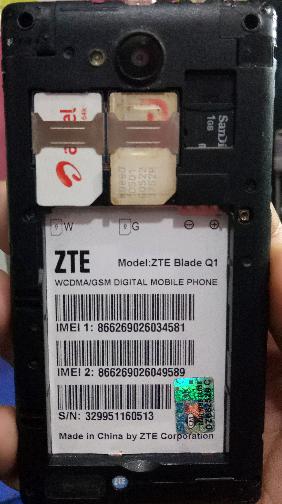 Image result for zte blade q1
