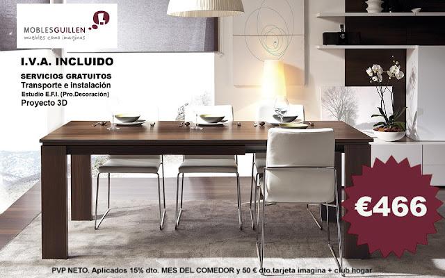 Mesas comedor CREA | MOBLES GUILLEN BLOG