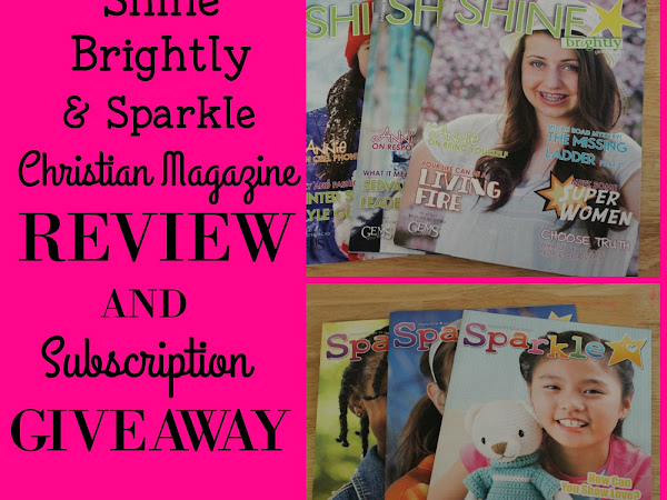 Shine Brightly and Sparkle Magazine Review and Giveaway