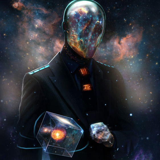 Space Fantasy Man Wallpaper Engine