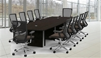 Cherryman Verde Conference Tables at OfficeFurnitureDeals.com