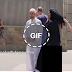 إمراة اجنبية تسحب حجاب عن امراة عربية امام زوجها في شوارع امريكا لن تتخيل ردود الأفعال