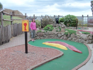 Fort Fun Adventure Golf Course in Eastbourne