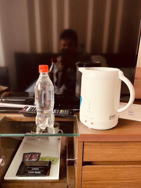 奧入瀨溪的水煮咖啡