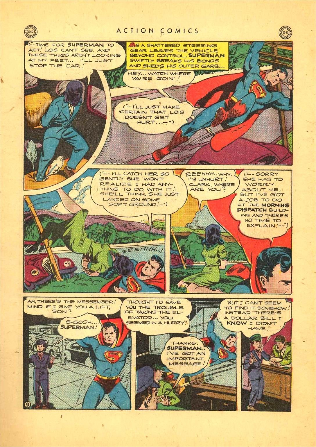 Read online Action Comics (1938) comic -  Issue #92 - 11