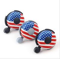 campanelli bici bandiera Usa