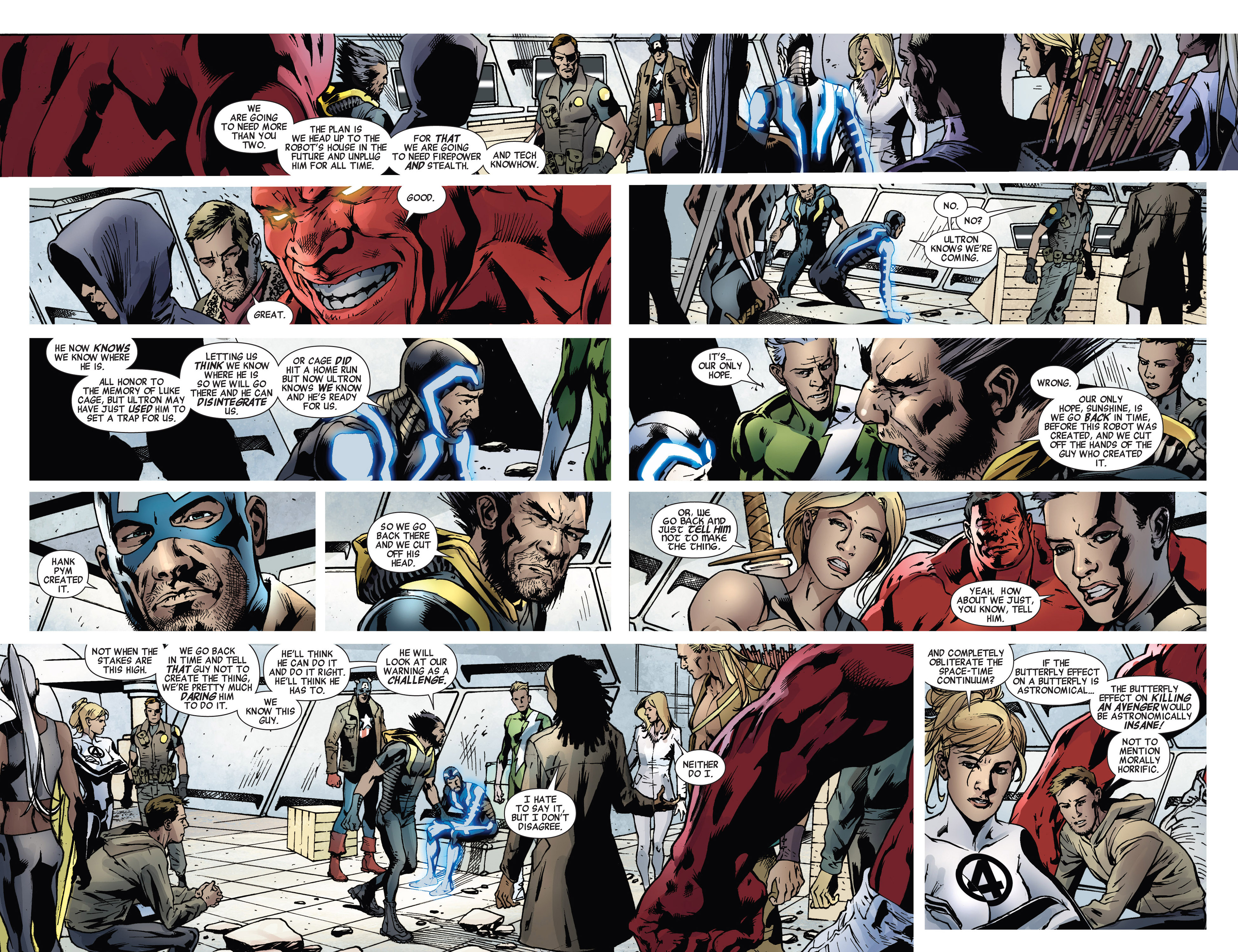Read online Age of Ultron comic -  Issue #5 - 14