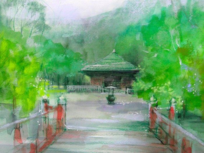 Японский художник. Akira Murata