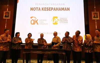 LPS dan OJK Tingkatkan Kerjasama dan Koordinasi