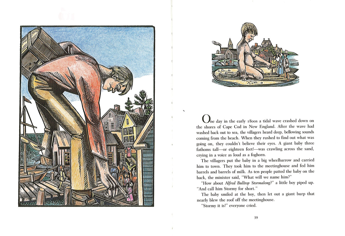 The Art Of Children S Picture Books American Tall Tales