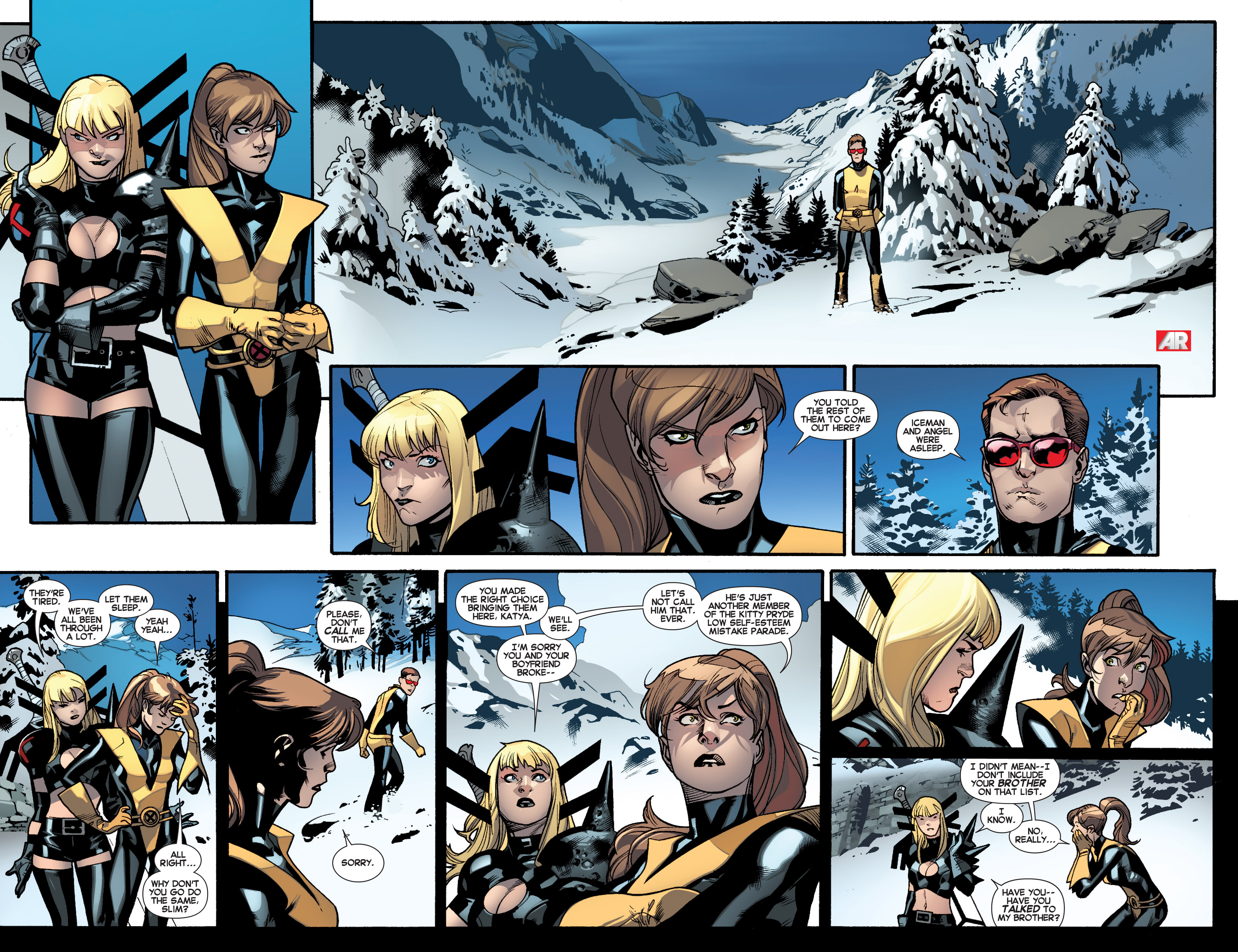 Read online All-New X-Men (2013) comic -  Issue #18 - 11