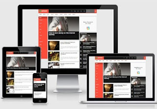 AMPNews HTML Blogger Template