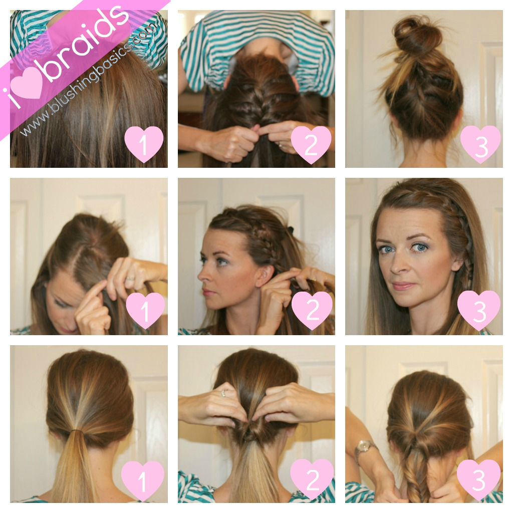 Cute Easy Hairstyles Steps