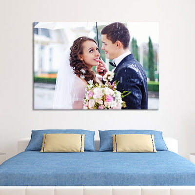 Bedroom Couple Canvas