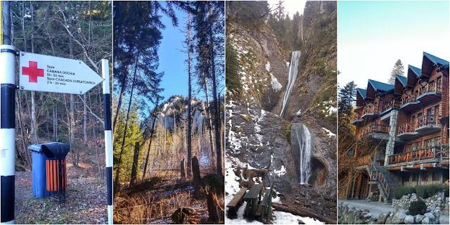 Traseu în Parcul Național Ceahlău: Durău, Cascada Duruitoarea