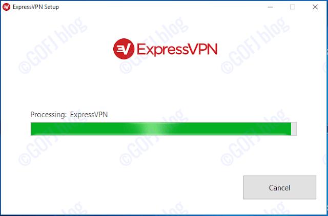 ExpressVPN windows installation