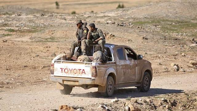 """""""Más de mil terroristas entraron en Siria de provincias iraquíes donde opera la coalición de EE.UU."""""""