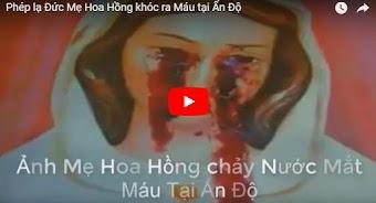 Phép lạ Đức Mẹ hoa hồng chảy nước mắt máu tại Ấn Độ