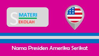 Daftar Nama Presiden Amerika Serikat dari masa ke masa