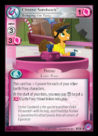My Little Pony Cheese Sandwich, Bringing the Party Seaquestria and Beyond CCG Card