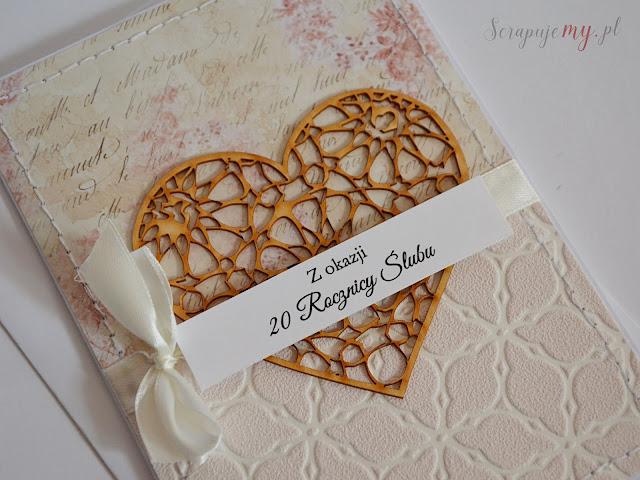 rocznica ślubu, kartka ślubna, pastelowa kartka, wedding card