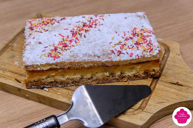 Gâteau au nougat et aux noisettes - Noël à Noisette