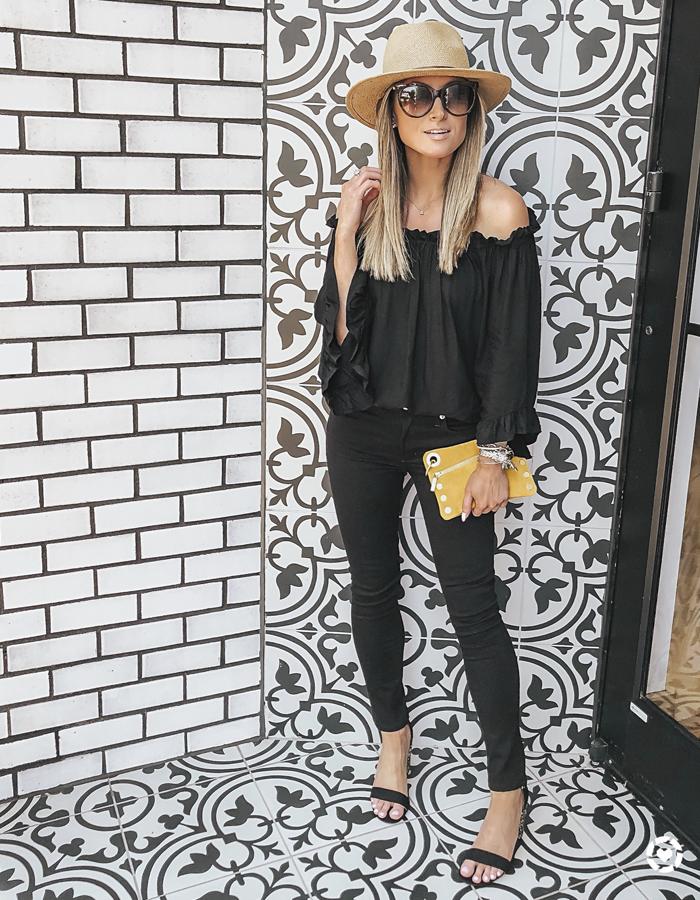 shopbop agolde black sophie skinny jeans