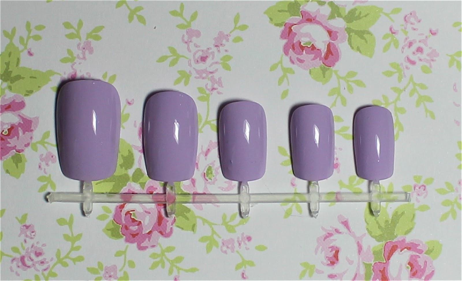models own hypergel lilac sheen swatch