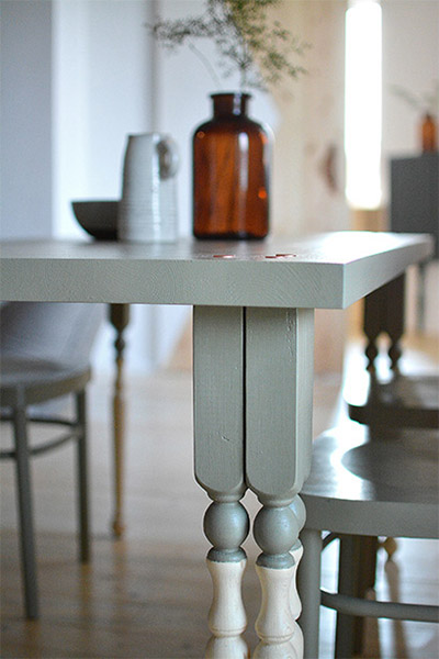 realiser soi-meme une table a manger diy