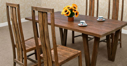 Reclaimed teak furniture made from reclaimed teak by Asia furniture
