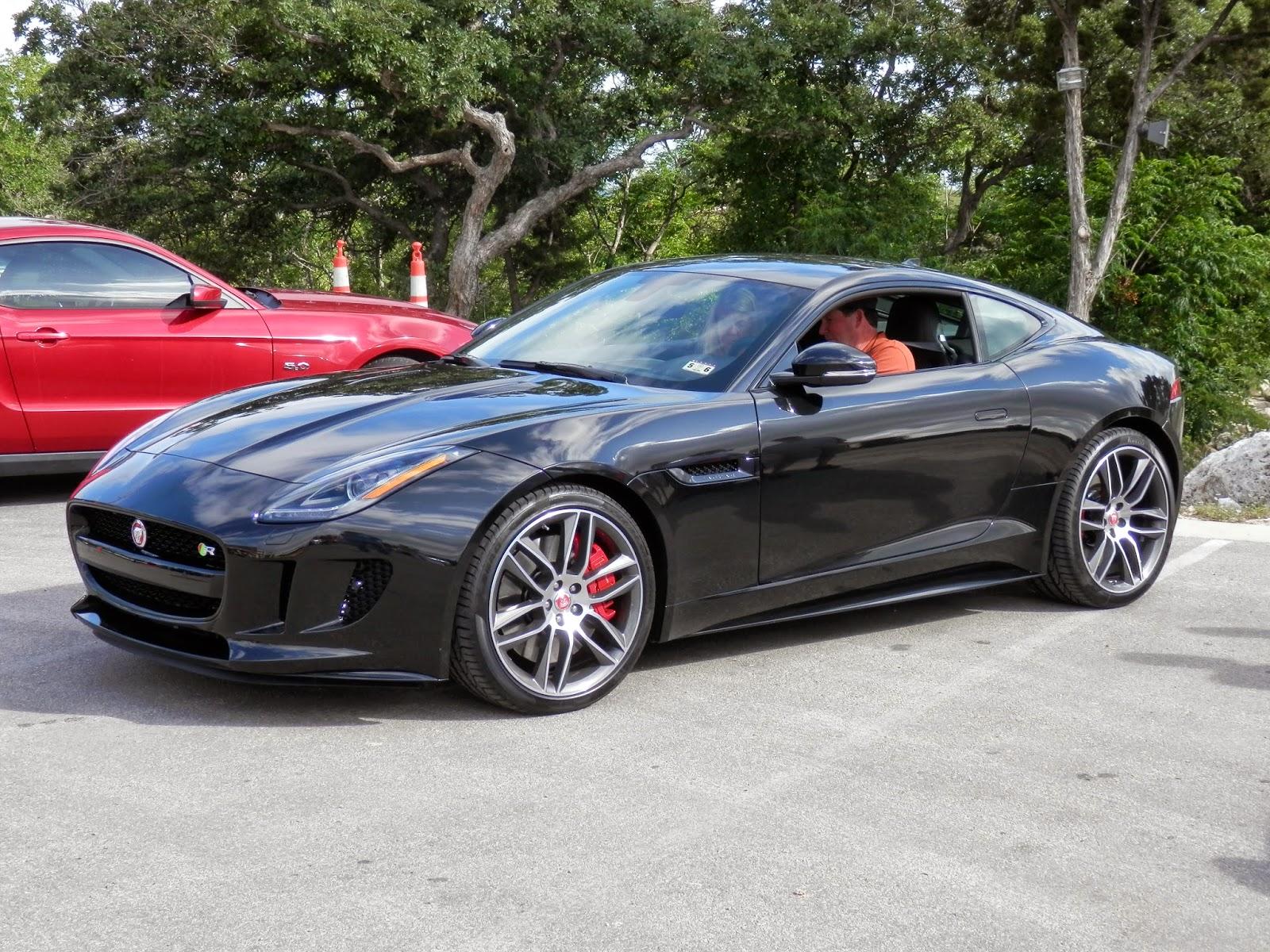 jaguar f type r coupe black - photo #1