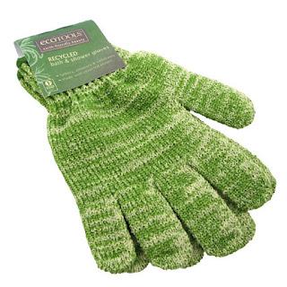 EcoTools, Recycled Bath & Shower Gloves, 1 Pair  قفازات استحمام