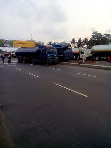 tanker accident mile 2 lagos