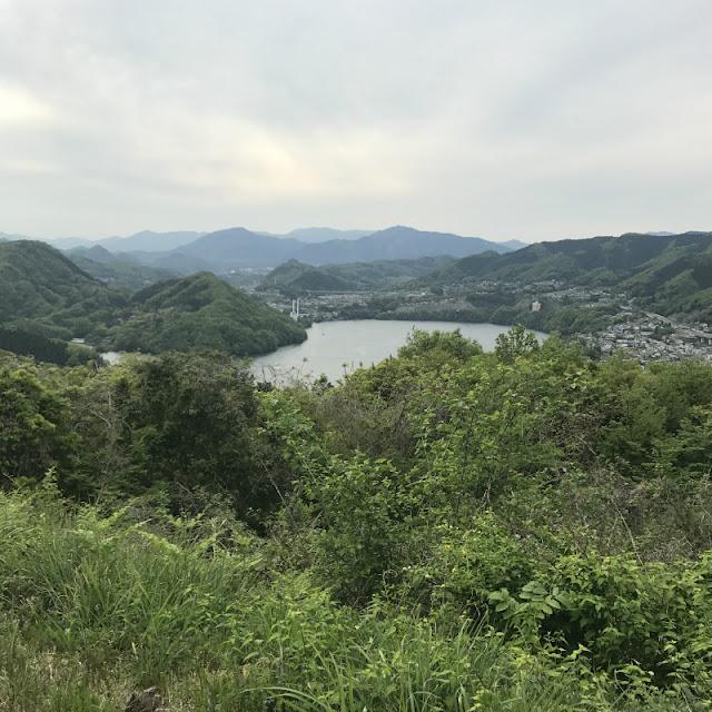 さがみ湖の景色の写真です。