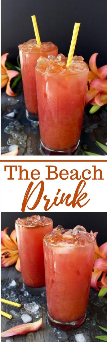 The Beach Drink Recipe #drink