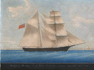 Imagem do Mary Celeste - Fonte - Wikicomon