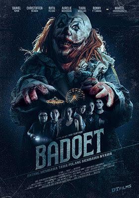 Poster de Badoet 2015, película dirigida por Awi Suryadi.