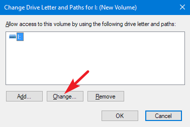 change volume name
