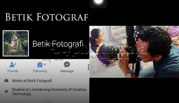 'Sama-Sama Kita Cari Photographer Setan Ni !' Mohon SEBARKAN !
