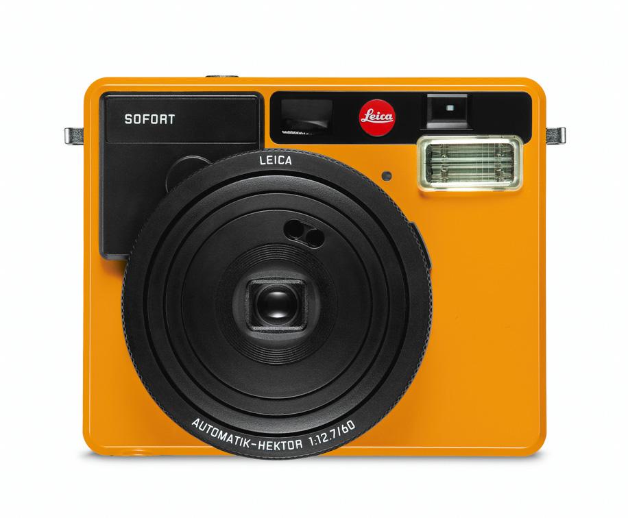 Leica Sofort, оранжевый цвет