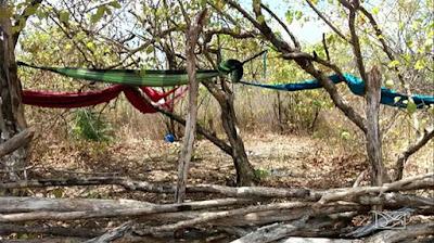 Local onde trabalhadores escravos dormiam, em Vargem Grande