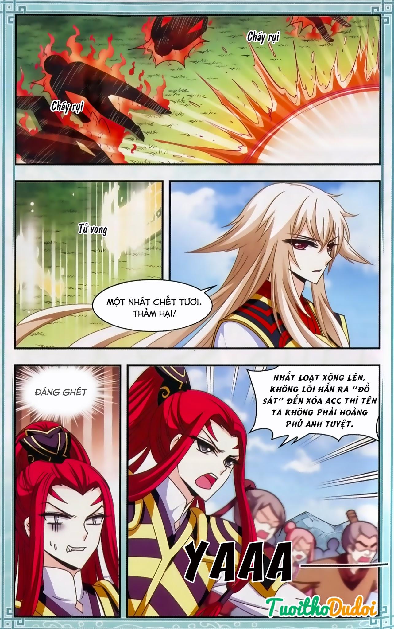 Phong Khởi Thương Lam Ngoại Truyện Chap 10