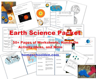 the homeschool den earth science layers of the earth hands on activity. Black Bedroom Furniture Sets. Home Design Ideas